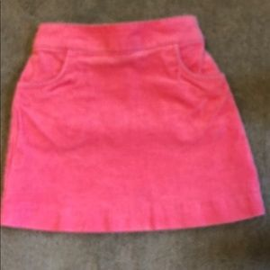 Other - 2T Pink Corduroy Skirt